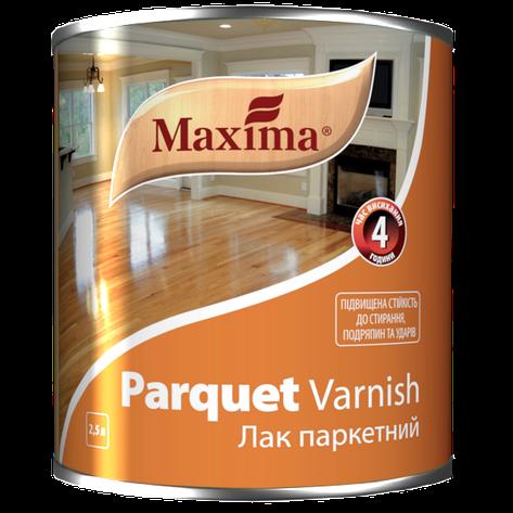 """Лак паркетный алкидно-уретановый TM """"Maxima"""" глянец - 2,5 л, фото 2"""