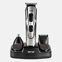 Машинка для стрижки GEMEI GM-592 10в1 USB, Универсальная машинка для стрижки, Триммер для бороды, носа и ушей
