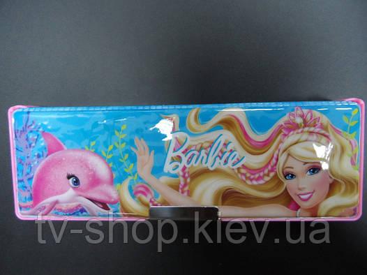 Пенал двухсторонний на магнитах Barbie