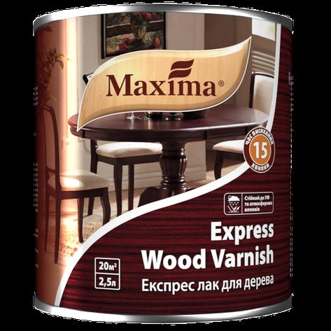 """Лак уретан-алкидный TM """"Maxima"""" Экспресс для дерева глянец - 2,5 л., фото 2"""