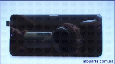 Дисплей с сенсором Samsung M205 Galaxy M20 чёрный,  GH82-18682A, оригинал, без рамки!, фото 2