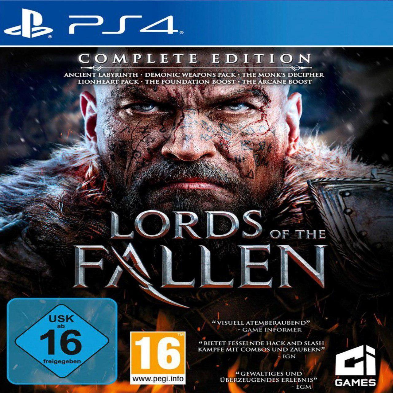 Lords Of The Fallen Complete Edition (російська версія) PS4