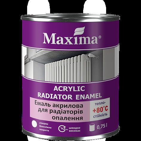 """Эмаль акриловая для радиаторов TM """"Maxima"""" - 0,4 кг., фото 2"""