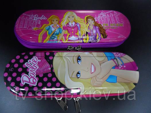Пенал металл  Barbie (2 вида)