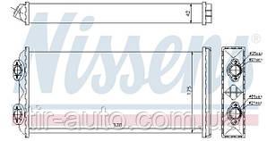 Радиатор печки MAN F 2000 (94-) 6 CYLINDER|MAN F 2000 (94-) V-10 ( NISSENS ) 71925