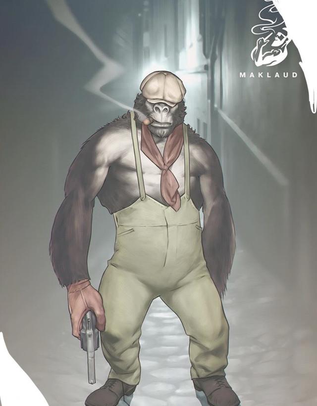 кальян маклауд обезьяна