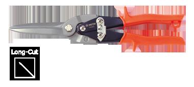 Ножницы по металлу (прямой разрез L=75 мм) KINGTONY 74060