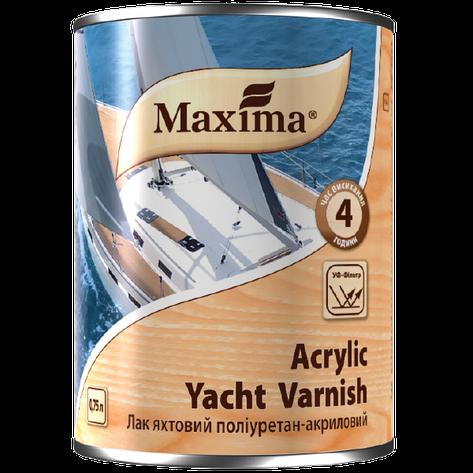 """Лак яхтный полиуретан-акриловый TM """"Maxima"""" глянцевый - 0,75 л., фото 2"""