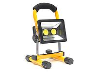 Прожектор фонарь светодиодный на аккумуляторах LED Flood Light BL-902 30W