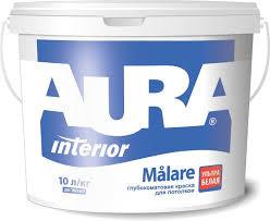 """Краска вододисперсионная ТМ """"AURA"""" Malare - 20,0 л."""