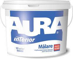 "Краска вододисперсионная ТМ ""AURA"" Malare - 20,0 л., фото 2"
