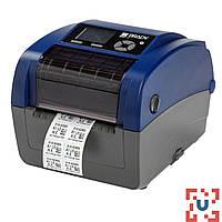 Промышленный принтер Brady BBP12 с резаком. Разрешение 300 dpi.