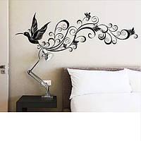 Интерьерная наклейка на стену Птица (150х50см)