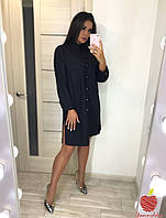 Женское платье рубашка Батал, фото 1