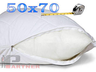 Чехол на подушку 50х70 см Цвет БЕЛЫЙ