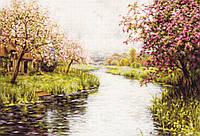 Luca-s Набор для вышивания  Весенний пейзаж