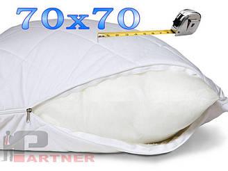 Чехол на подушку 70х70 см Цвет БЕЛЫЙ