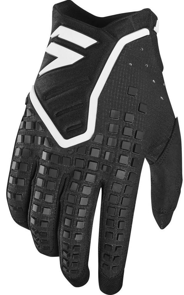 Мото перчатки SHIFT 3LACK PRO GLOVE [BLACK], XXL (12)