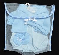 Комплект одежды голубого цвета Llorens для кукол 42 cm