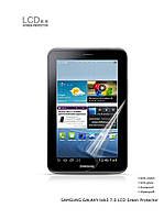 Аксессуар для планшета Yoobao Screen Protector for Samsung P3200 Galaxy Tab 3 7.0 clear [SPSAMP3200-CLEAR]