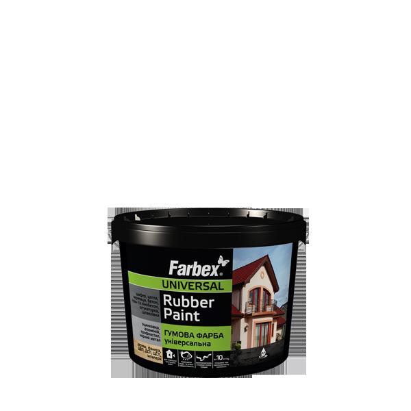 "Резиновая краска ТМ""FARBEX"" светло-зеленая матовая (RAL 6018) - 1,2 кг."