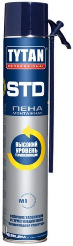 """Пена монтажная бытовая ТМ """"TYTAN"""" STD - 750 мл."""