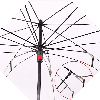 Зонт наоборот с Ромашкой || Up-brella (анти-зонт), фото 5