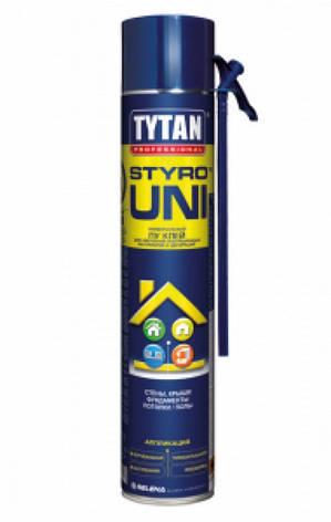 """Клей-пена для теплоизоляции ТМ """"TYTAN"""" STYRO UNI - 750 мл., фото 2"""