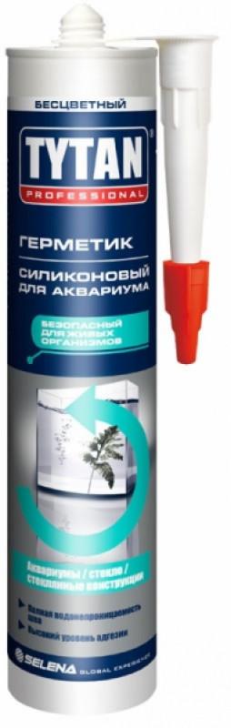 """Герметик силиконовый для аквариума ТМ """"TYTAN"""" (черный) - 310 мл."""