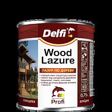 """Лазури для дерева ТМ """"DELFI"""" калужница - 0,75 л"""