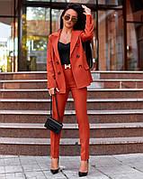 Женский брючный костюм в расцветках А-2-0919