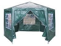 Садовый павильон с окнами 2х2х2 м / Торговая палатка зелёный