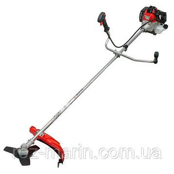 Мотокоса 1.5 кВт/2 л. с., 43 см3, котушка, 3-х лопатевої ніж, фреза 40 зубъев INTERTOOL DT-2232