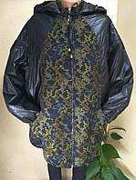 Осенняя Женская куртка размер батал