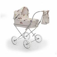 Испанская коляска для кукол Bebelux Romantic Butterfly