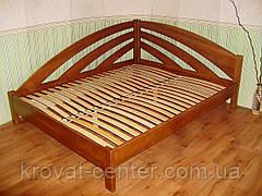 """Полуторне ліжко з ящиками з масиву натурального дерева """"Веселка"""" від виробника, фото 2"""
