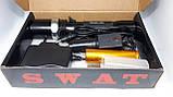 Фонарь Police T8626S-XPE, ЗУ 220V/12V, 1х18650/3хААА, zoom, Box, фото 2