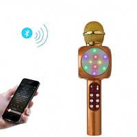 WSTER WS-1816 беспроводной караоке микрофон со светомузыкой