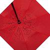 Зонт наоборот, Бордовый с узором || Up-brella (анти-зонт), фото 5