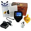 Беспроводной цветной эхолот часы Lucky FF518 Fish Finder встроенный аккумулятор 3,7В зарядка от 220В или 12В, фото 9