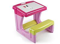 Столик с двухсторонней таблицей для рисования Smoby 28061 B