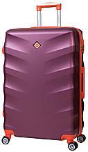 Дорожный чемодан на колесах Bonro Next Бордовый Небольшой