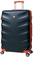 Дорожный чемодан на колесах Bonro Next Черный Средний