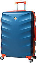Дорожный чемодан на колесах Bonro Next Синий Средний