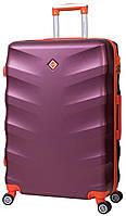 Дорожный чемодан на колесах Bonro Next Бордовый Средний