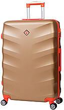 Дорожный чемодан на колесах Bonro Next Золотой Большой