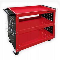 Тележка для инструментов 3PA Sherman для автомобильных мастерских красная