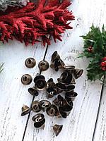 Набор бронзовых колокольчиков, 2 шт, 21 мм