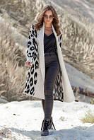 Пальто вязаное Лео, фото 1