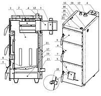 Твердотопливный котел Проскуров АОТВ-40Н (4 мм), фото 5